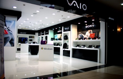 Stores selling computers, mobile phones